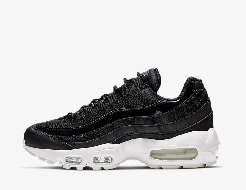 Nike air max 95 se sneakers zwartwit