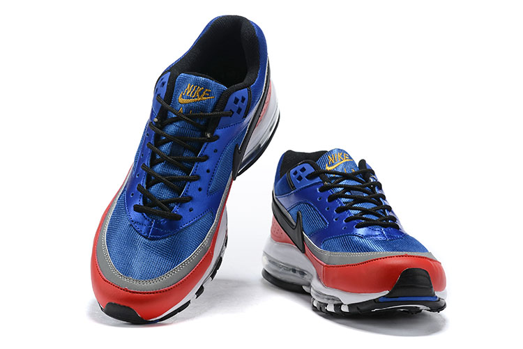 Nike air max 97 bw heren sneakers blauwrood vind je in Sneakerstad