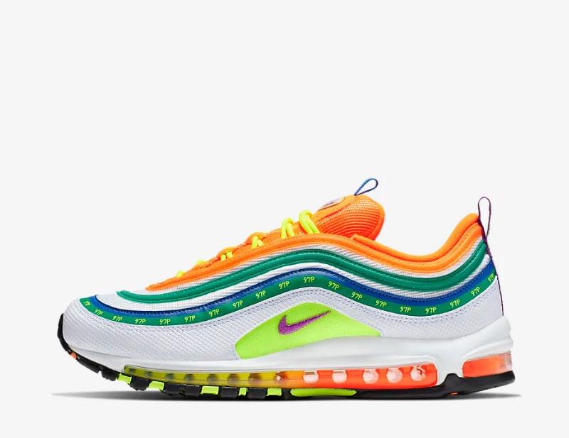 info for 0b9ee 1aa44 Nike air max 97 on air jasmine lasode sneakers multicolor