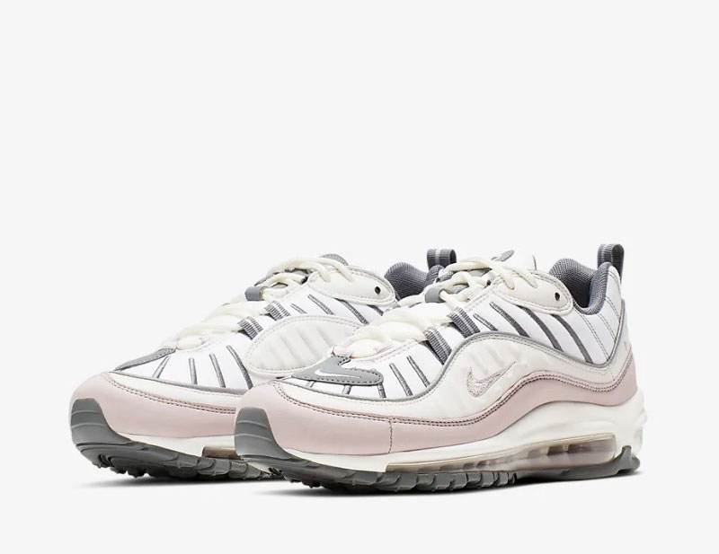 Nike air max 98 dames sneakers wit/grijs vind je in Sneakerstad