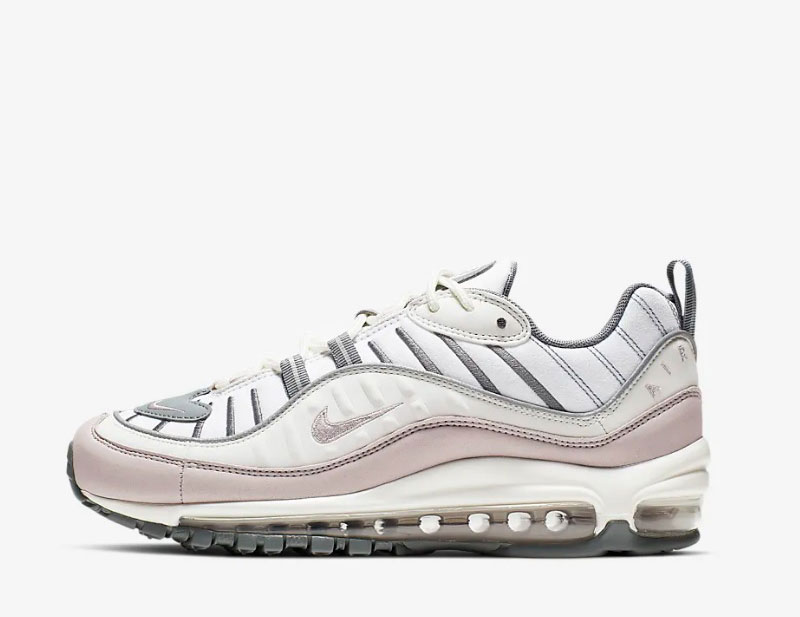 Nike air max 98 dames sneakers wit/grijs