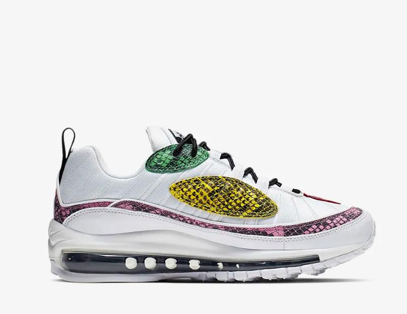 Nike air max 98 premium animal dames sneakers wit vind je in Sneakerstad