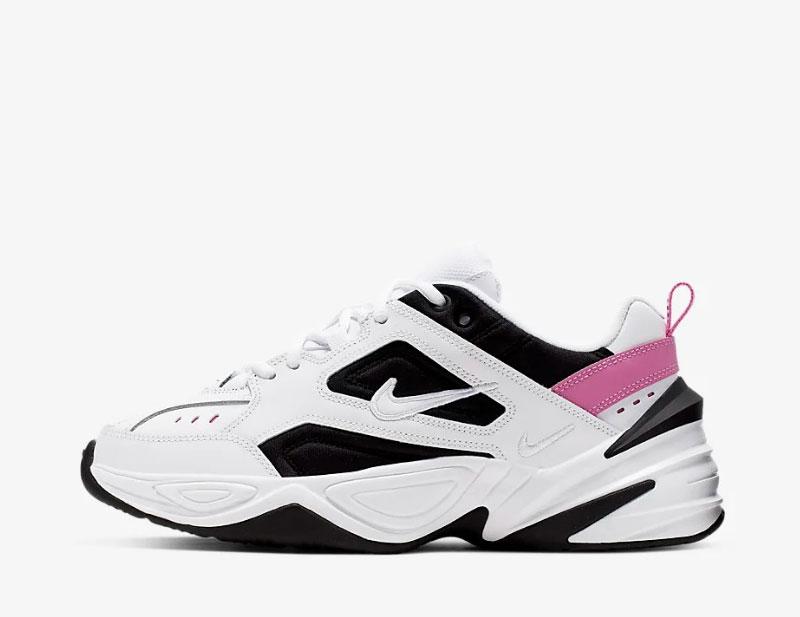 Nike m2k tekno dames sneakers wit/zwart