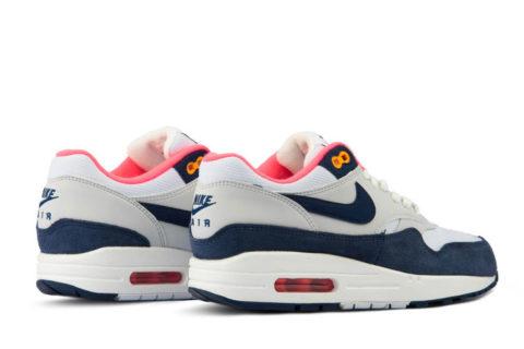 Nike air max 1 dames sneakers witdonkerblauw vind je in