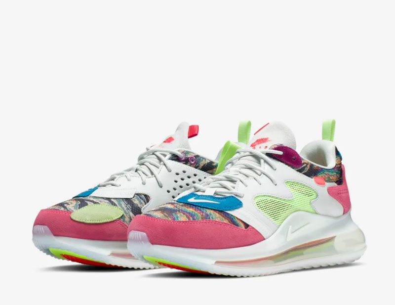 Nike air max 720 obj dames sneakers multicolor