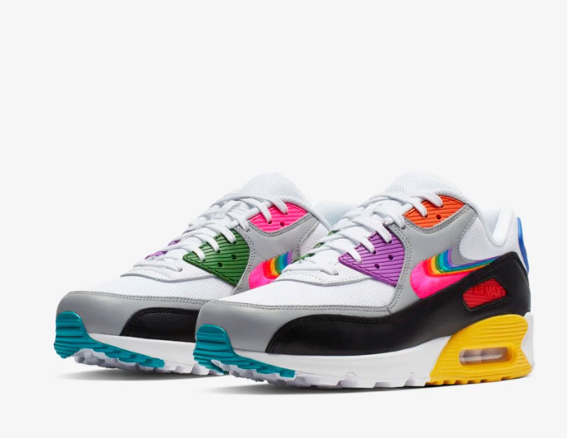 Nike air max 90 betrue sneakers multicolor