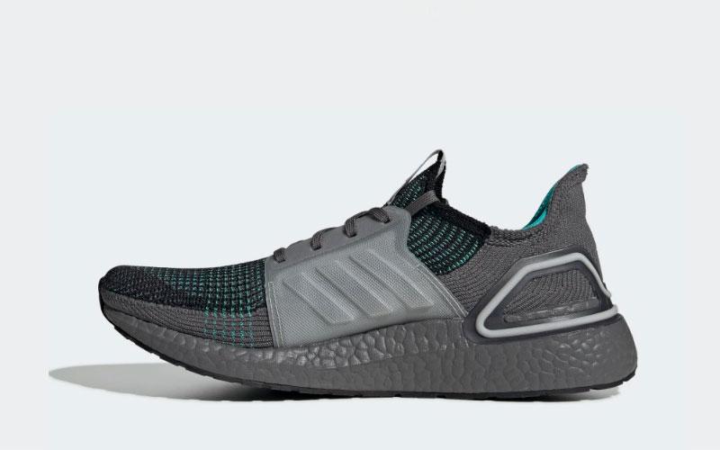 Adidas ultraboost 19 heren sneakers zwartgroen vind je in Sneakerstad
