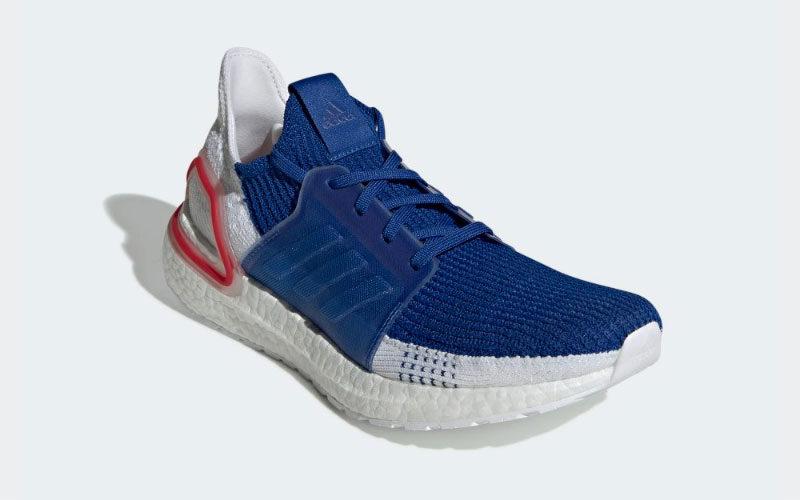 adidas ultra boost blauw