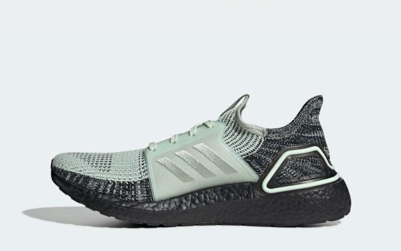 Adidas ultraboost 19 heren sneakers groen/grijs