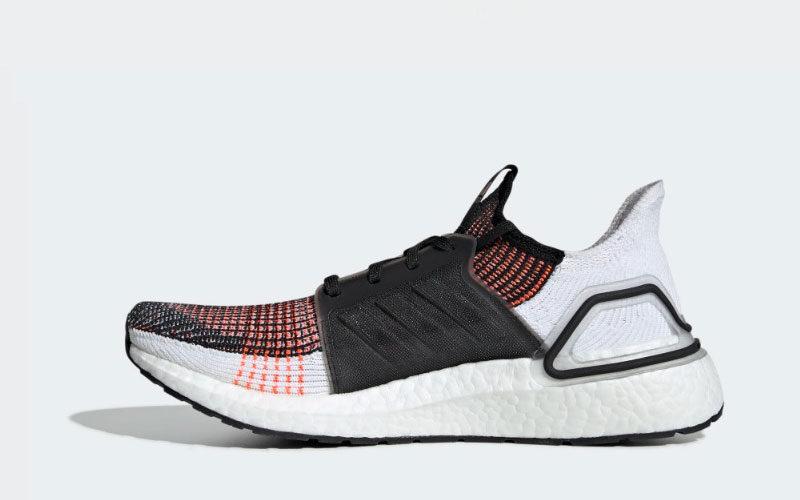 Adidas ultraboost 19 heren sneakers wit/zwart