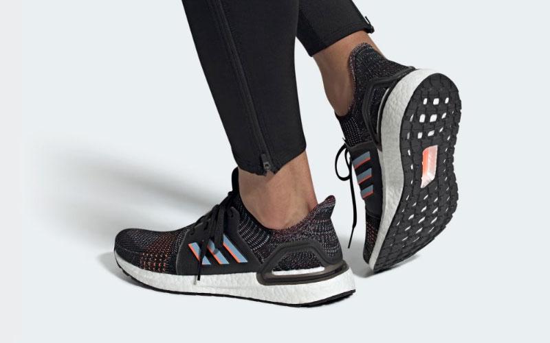 Adidas ultraboost 19 heren sneakers zwartwit vind je in Sneakerstad