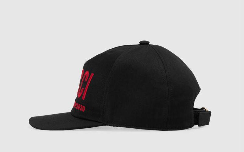 Verrassend Gucci basketbal pet zwart/rood - Vind je in Sneakerstad GK-31