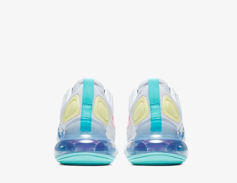 Nike air max 720 dames sneakers witpaars 01