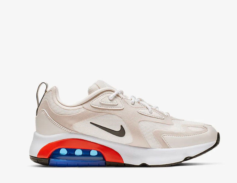 Nike air max 200 dames sneakers beige