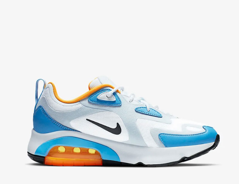 Nike air max 200 dames sneakers witblauw vind je in Sneakerstad