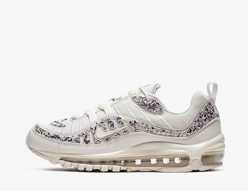 Nike air max 98 dames sneakers beige/wit