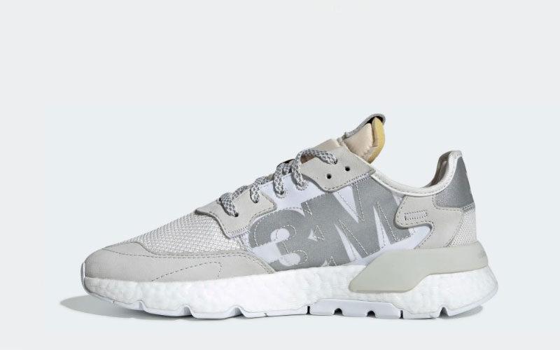 Adidas nite jogger sneakers wit Vind je in Sneakerstad