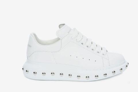 Alexander McQueen tread nette heren schoenen zwart Vind je in Sneakerstad