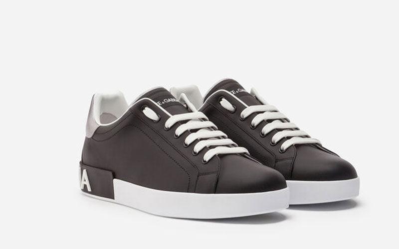 Dolce & Gabbana portofino heren instappers bruinzwart Vind je in Sneakerstad