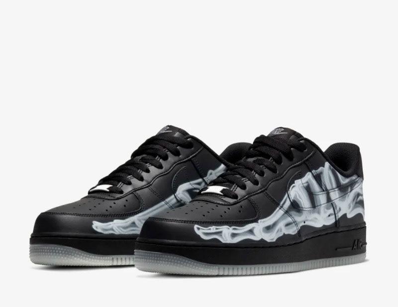 Nike air force 1 sneakers zwart/wit