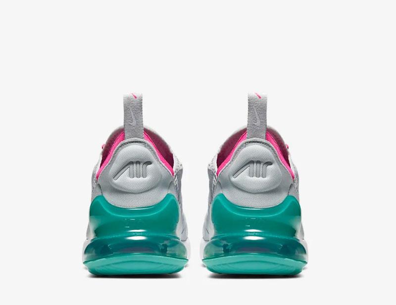 Nike air max 270 dames sneakers grijsgroen vind je in Sneakerstad
