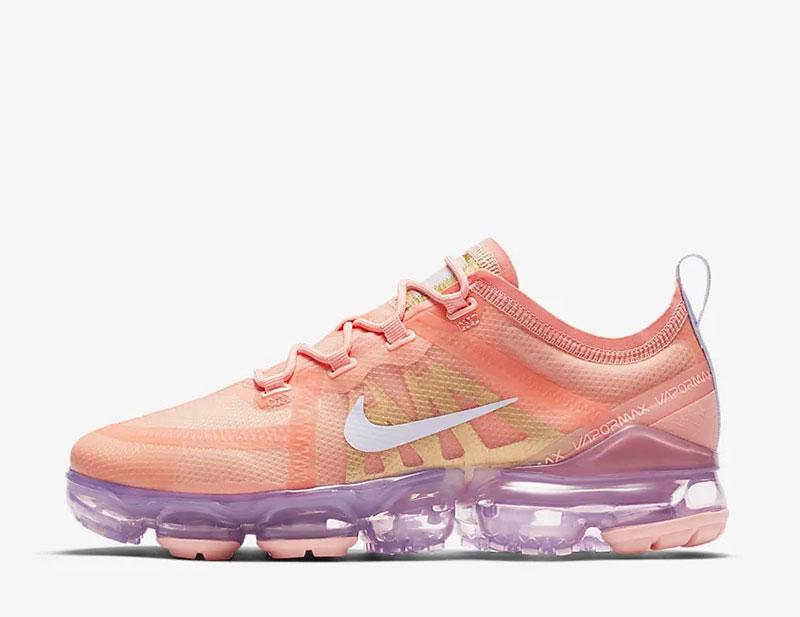 Nike Air VaporMax 2019 dames sneakers roze/paars - 02