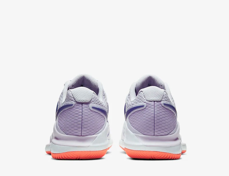 NikeCourt air zoom vapor x dames sneakers lila paars
