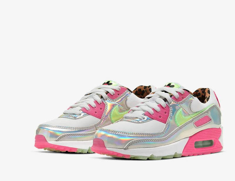 Nike air max 90 lx dames sneakers witroze