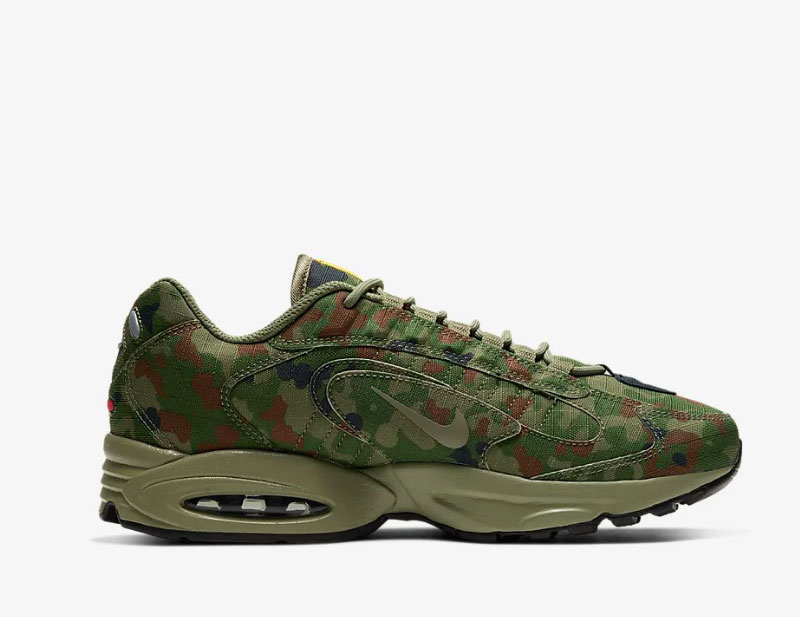 Nike air max triax 96 heren sneakers groen