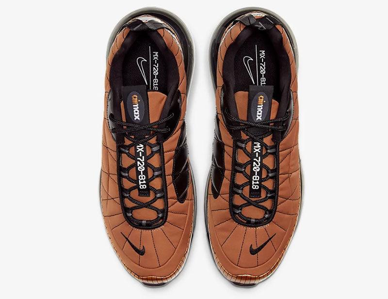 Nike mx 720 818 heren sneakers metallic copper